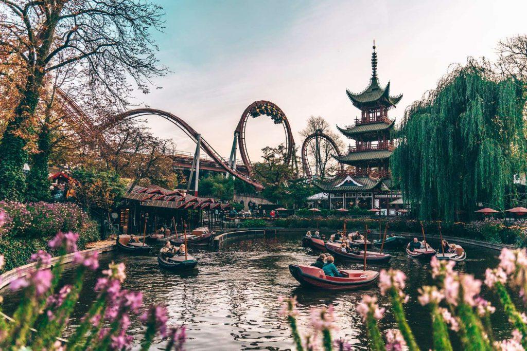 Taman Rekreasi di Eropa: Tivoli Gardens, Denmark